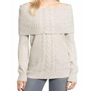 Chelsea28 off shoulder sweater